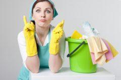 雑巾がけのフローリング掃除に酢は使える?