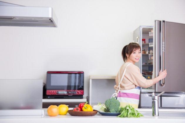 冷蔵庫の素地