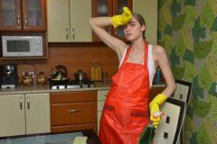お酢を使ったレンジ掃除の方法って?