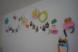 子育て中のおうち壁