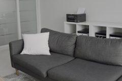 リビングもソファーも、毎日10分掃除でいつもキレイな憩いの場