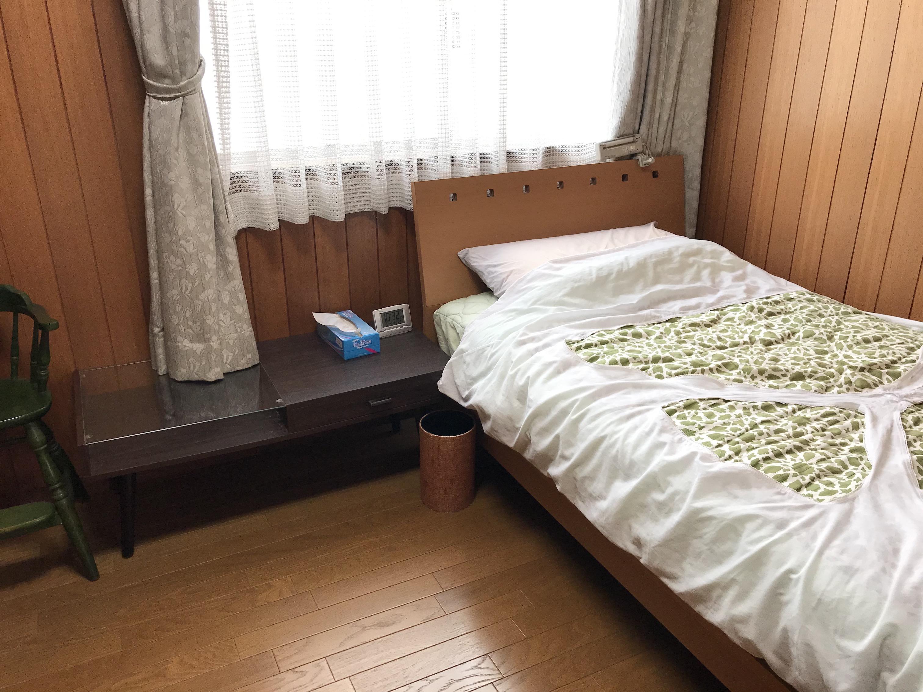こちらの寝室も家事代行でどこまで綺麗になるのか