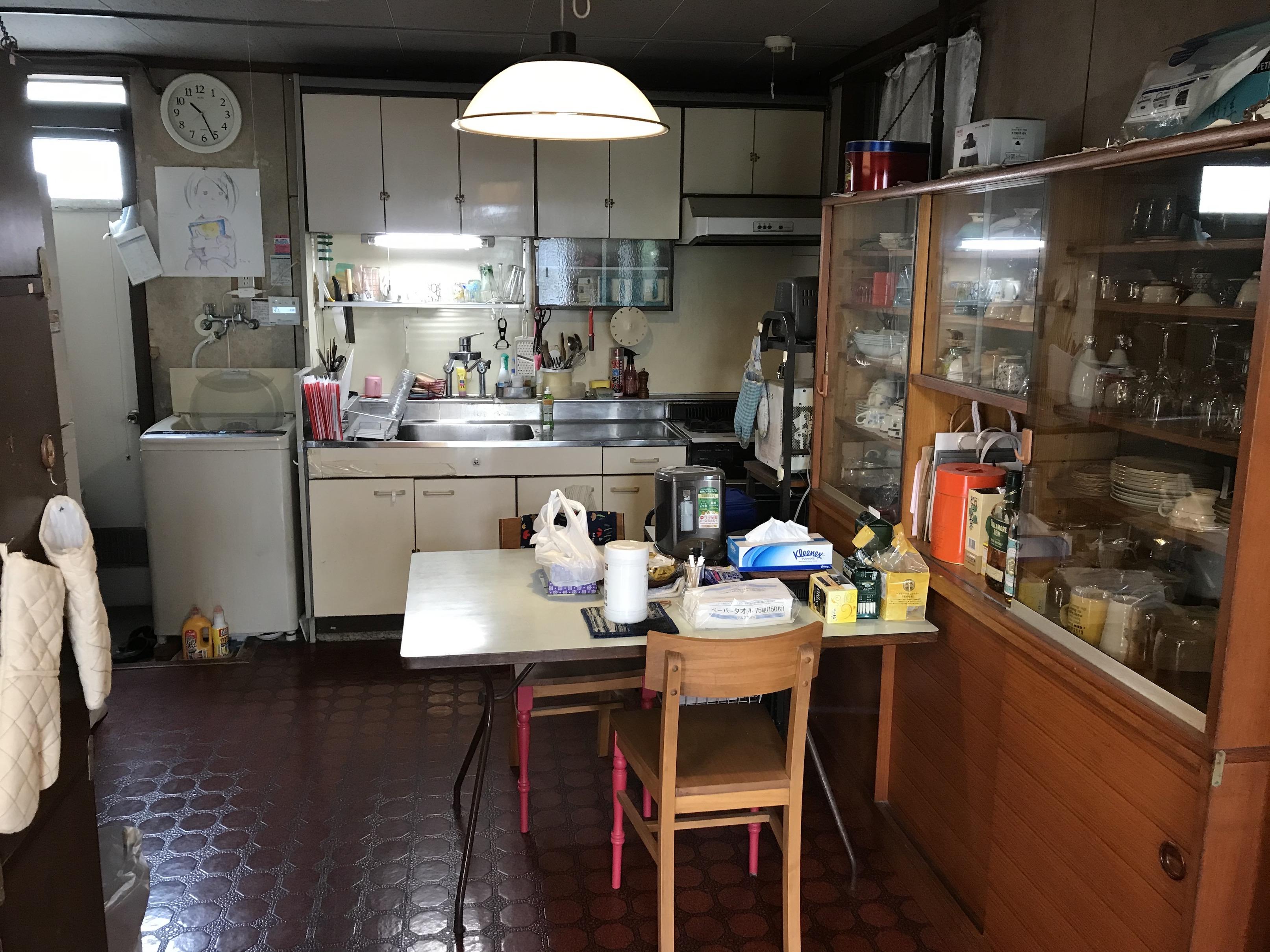 キッチンの様子