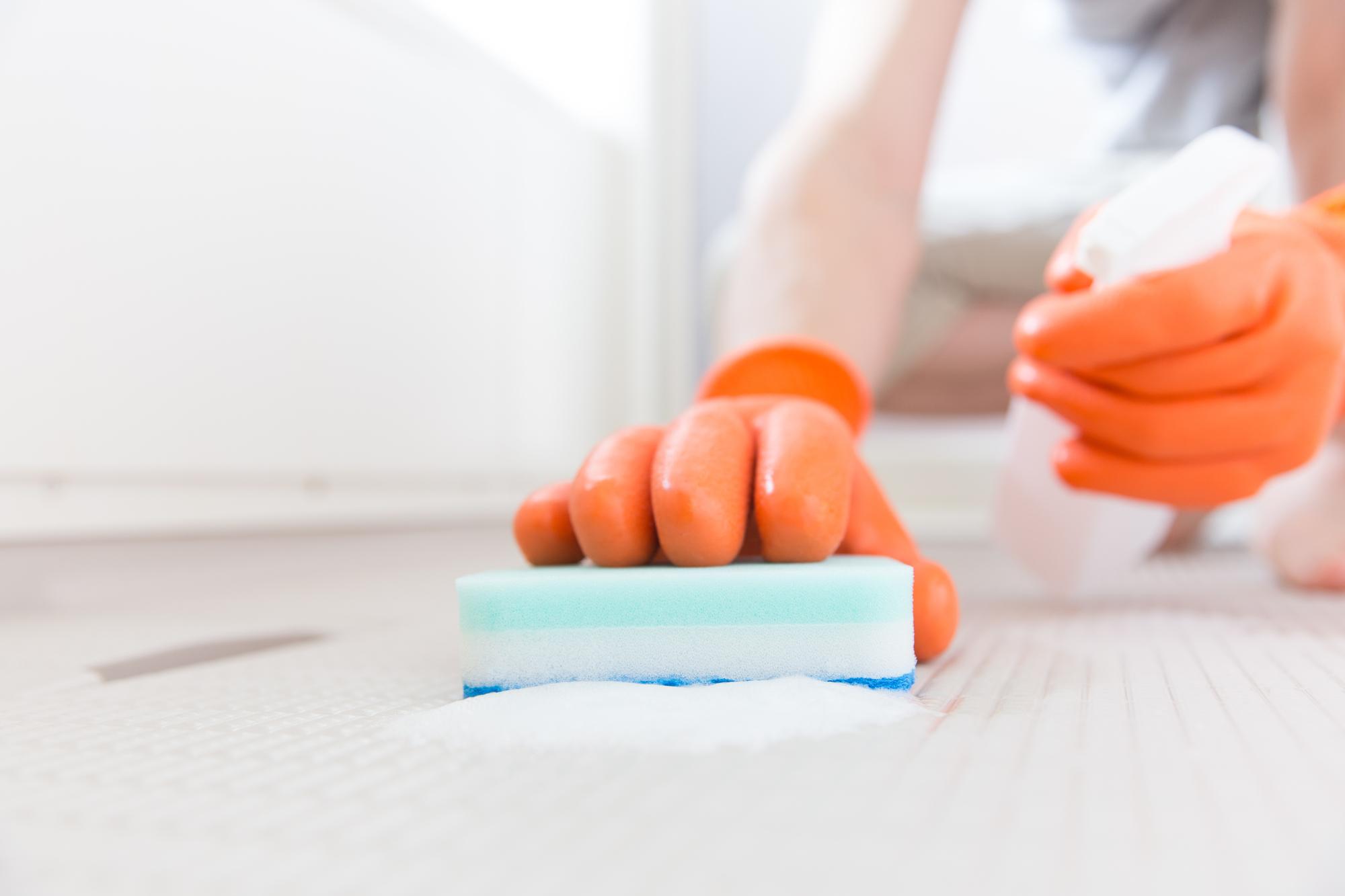 浴室の掃除イメージ